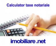 Calculator taxe notariale